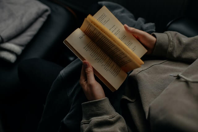 Read books- what to do when bored at night in your room