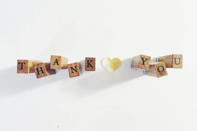 Best ways to say thank you
